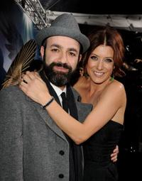 Scott Stewart and Kate Walsh at the California premiere of