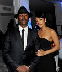 Tyrese Gibson and Guest at the after party of the California premiere of