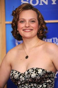 Elisabeth Moss at the New York premiere of