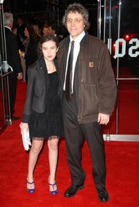 Gracie Lawrence and Marc Lawrence at the London premiere of