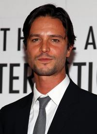 Jason Behr at the New York premiere of