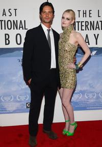 Jason Behr and Lydia Hearst-Shaw at the New York premiere of