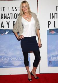 Jennifer Ohlsson at the New York premiere of