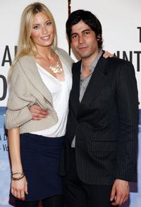 Jennifer Ohlsson and Carlos Velazquez at the New York premiere of