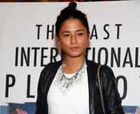 Jessica Gomes at the New York premiere of