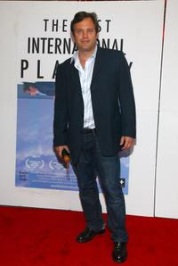 Michael Mailer at the New York premiere of