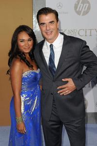 Tara Wilson and Chris Noth at the New York premiere of