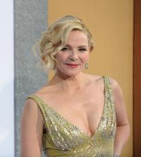 Kim Cattrall at the New York premiere of