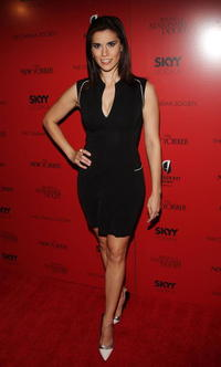 Milena Govich at the New York premiere of