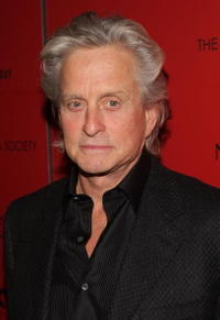 Michael Douglas at the New York premiere of