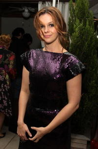 Amber Tamblyn at the after party of the New York premiere of