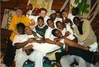 St. Vincent-St. Mary's basketball team in