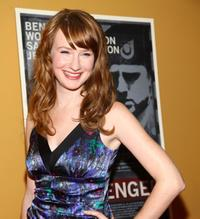 Halley Feiffer at the New York premiere of