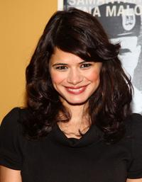 Melonie Diaz at the New York premiere of