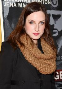 Zoe Lister-Jones at the New York premiere of