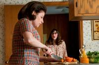 Sari Lennick as Judith Gopnik and Jessica McManus as Judith's daughter Sarah Gopnik in