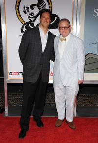Andrew Karpen and James Schamus at the New York premiere of