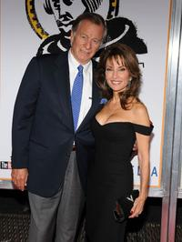 Helmut Huber and Susan Lucci at the New York premiere of