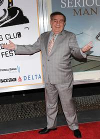 Freddy Roman at the New York premiere of