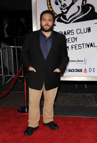 Dan Fogler at the New York premiere of