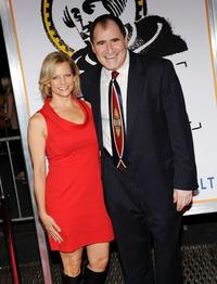 Dana Kind and Richard Kind at the New York premiere of