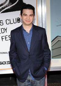Samm Levine at the New York premiere of