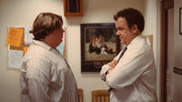 Jacob Wysocki as Terri and John C. Reilly as Mr. Fitzgerald in