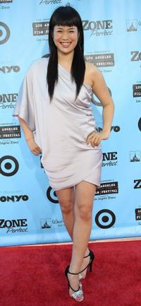 Carrie Kondo at the California premiere of