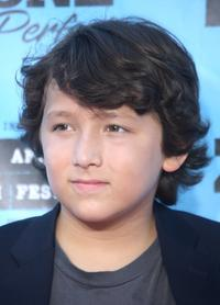 Frankie Jonas at the California premiere of