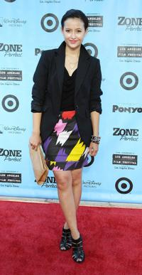 Friedia Niimura at the California premiere of