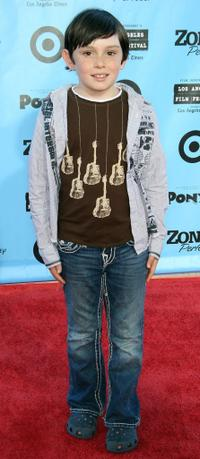 Trenton Rogers at the California premiere of