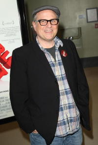 Bobcat Goldthwait at the California premiere of
