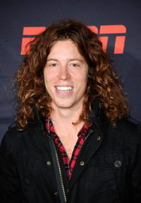 Shaun White at the California premiere of