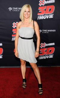 Sarah Burke at the California premiere of