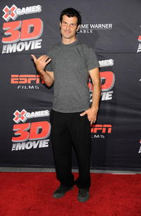 Mat Hoffman at the California premiere of