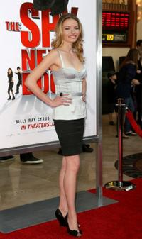 Katherine Boecher at the California premiere of