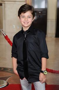 Will Shadley at the California premiere of
