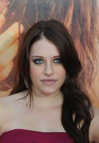 Carly Chaikin at the California premiere of