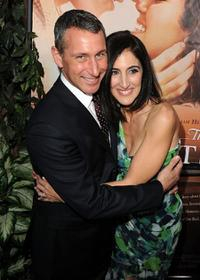 Producer Adam Shankman and Jennifer Gibgot at the California premiere of