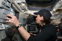 "Astronaut Megan McArthur in ""Hubble 3D."""