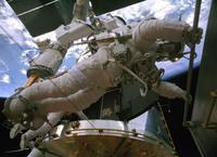 """Astronaut Andrew Feustel in """"Hubble 3D."""""""
