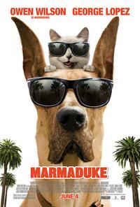 """Poster art for """"Marmaduke."""""""