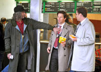 """Derek Jeter, Mark Wahlberg and Will Ferrell in """"The Other Guys."""""""