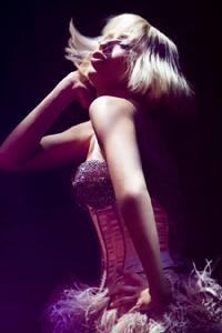 """Christina Aquilera in """"Burlesque."""""""