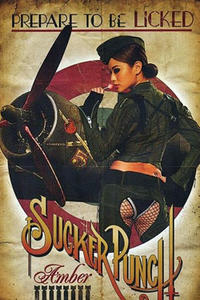 Character poster art featuring Jamie Chung as Amber in