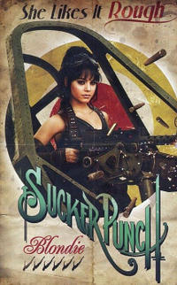 Character poster art featuring Vanessa Hudgens as Blondie in