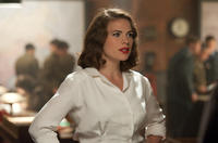 Hayley Atwell as Peggy Carter in