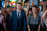 Justin Timberlake as Dylan and Mila Kunis as Jamie in
