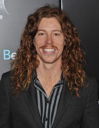 Shaun White at the New York premiere of