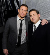 Channing Tatum and Jonah Hill at the after party of California premiere of
